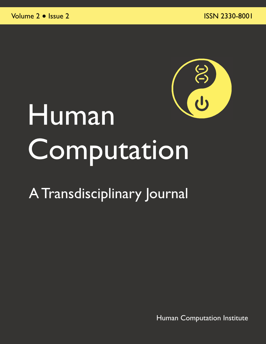 Human Computation, Volume 2, Issue 2, December 2015
